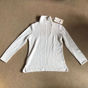 Chiri for Good handmade alpaca sweater - cream - S